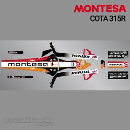Kit adhesivos Montesa Cota 315R Repsol Edition