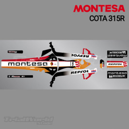 Stickers kit Montesa Cota 315R Repsol Edition