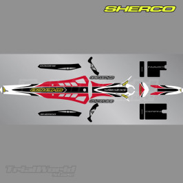 Stickers kit Sherco ST Trial 2009