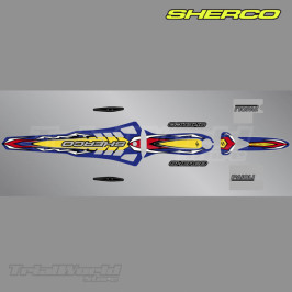 Stickers kit Sherco ST Trial 2007