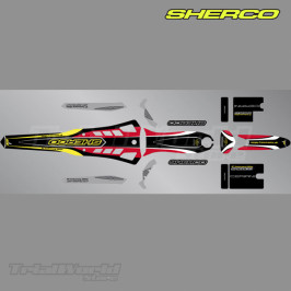 Stickers kit Sherco Trial anniversary 2009