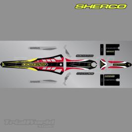 Kit adhesivos Sherco ST Trial aniversario 2009