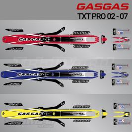 Kit adhesivos GasGas TXT PRO 2002 a 2007