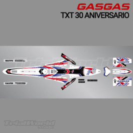 Stickers kit GasGas TXT 30 anniversary