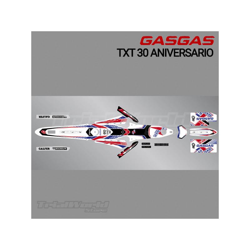 Kit adhesivos GasGas TXT 30 Aniversario