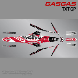 Stickers kit GasGas GasGas TXT GP 2018