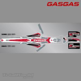 Stickers kit GasGas TXT 2017
