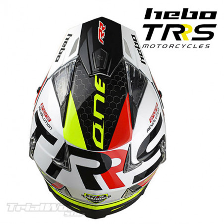 Helmet Hebo official TRS Motorcycles Zone4 White