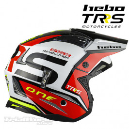 Helmet Hebo official TRS Motorcycles Zone4 White