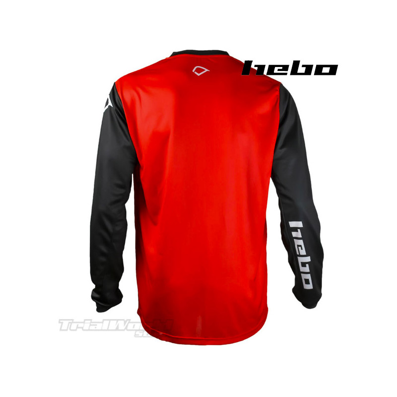 Camiseta Trial Hebo TECH roja