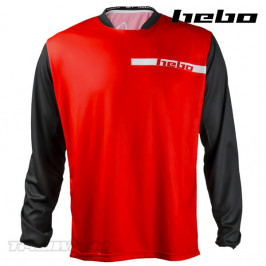Jersey Hebo Tech 10 Trial Red