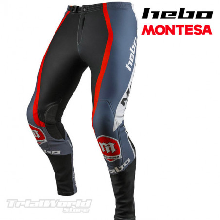 Pantalón Trial Hebo Montesa Classic Limited Gris