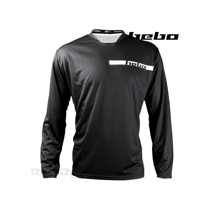 Camiseta Trial Hebo TECH negro