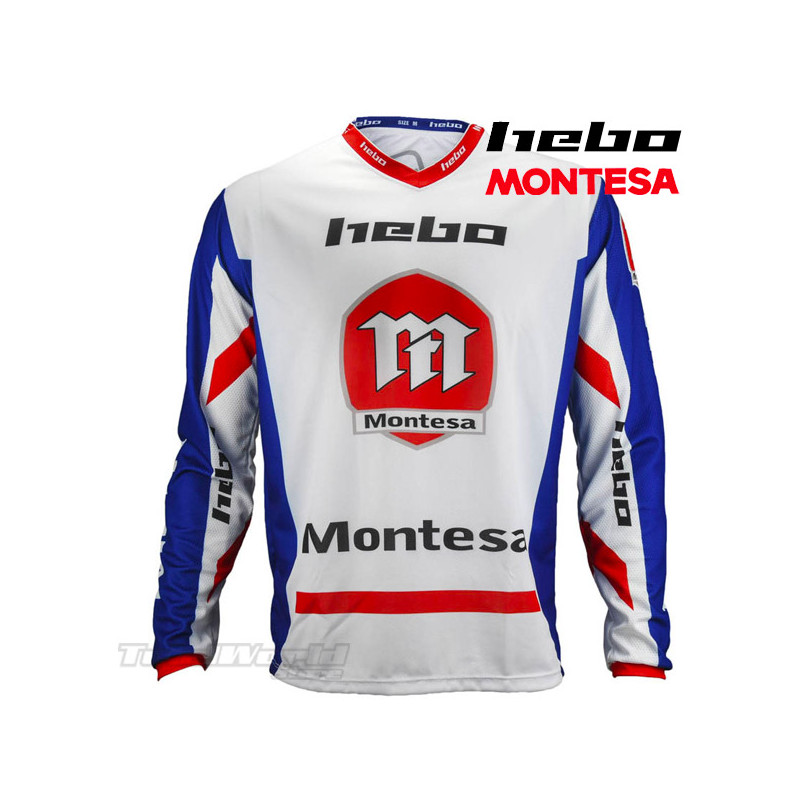 copy of Jersey Hebo Montesa Classic III Trial blue