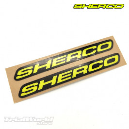 Frame stickers Sherco Trial