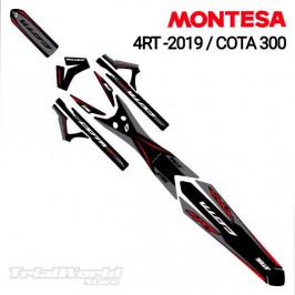 Decals kit Montesa Cota 4RT - Cota 300RR Stealth Jitsie