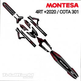 Kit adhesivos Montesa Cota 4RT / 301RR Stealth by Jitsie