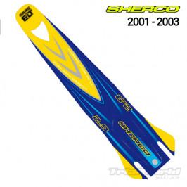 Adhesivos guardabarros Sherco Trial 2001 - 2003