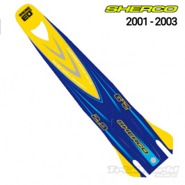 Rear mudguard sticker Sherco Trial 2001 - 2003 Trial