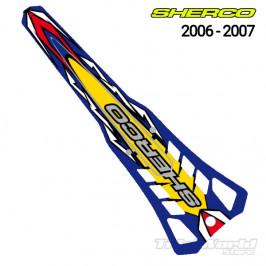 Rear mudguard sticker Sherco Trial 2006 - 2007 Trial