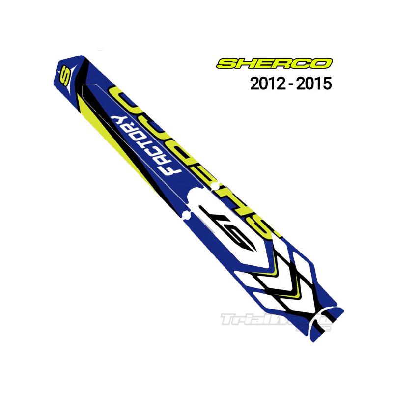 Adhesivo guardabarros Sherco Trial 2012 - 2015