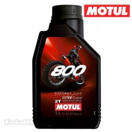 Aceite de mezcla 2T Motul 800
