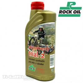 Aceite para mezcla 2T Rock Oil Strawberry
