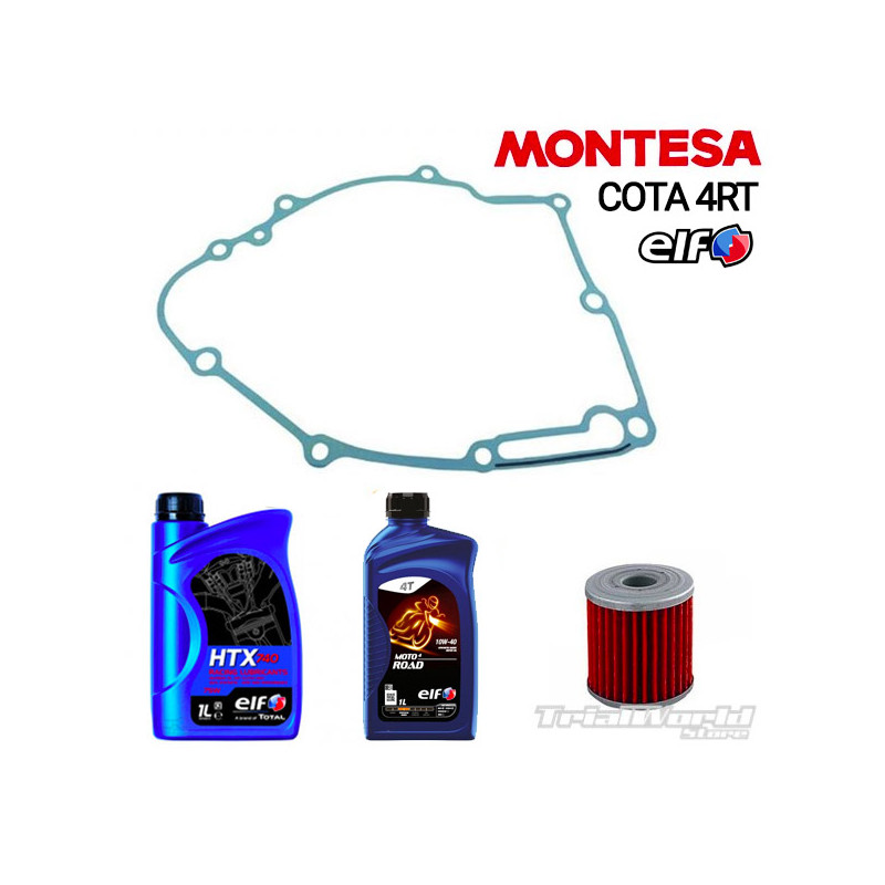 Kit cambio de aceites ELF Montesa Cota 4RT