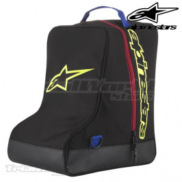 Boots bag Alpinestars black and blue