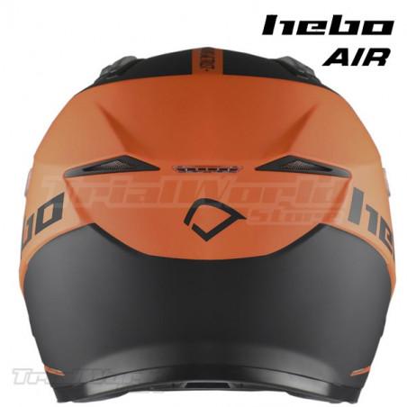 Casco Trial Hebo Zone 5 AIR We Trust Orange