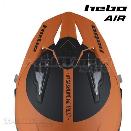 Helmet Hebo Zone 5 AIR We Trust Orange