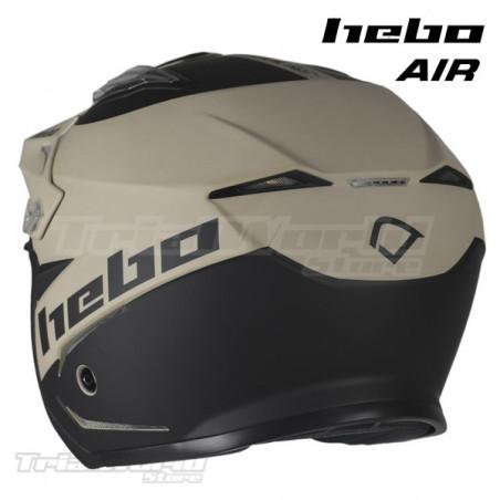 Helmet Hebo Zone 5 AIR We Trust White