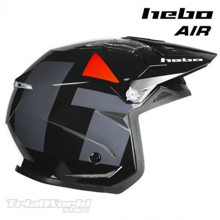 Helmet Hebo Zone5 AIR H-Type Black