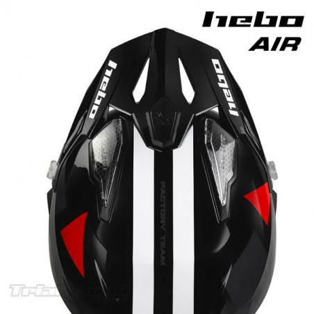Casco Hebo Zone5 AIR H-Type Black