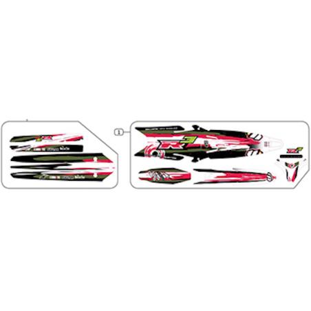 Kit de adhesivos Vertigo Vertical R3 2021