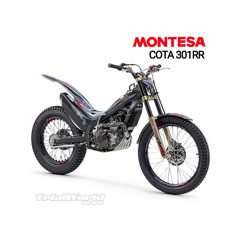 copy of Rear mudguard sticker Montesa...