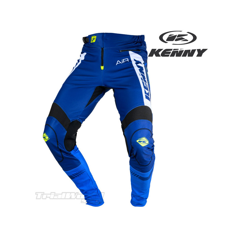 Pantalon Kenny Racing Trial Air azul