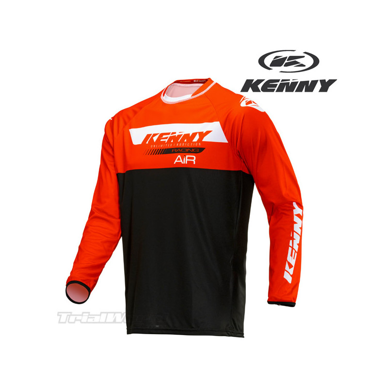 Kenny Racing Trial Air jersey red