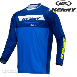 Camiseta Kenny Racing Trial Air azul