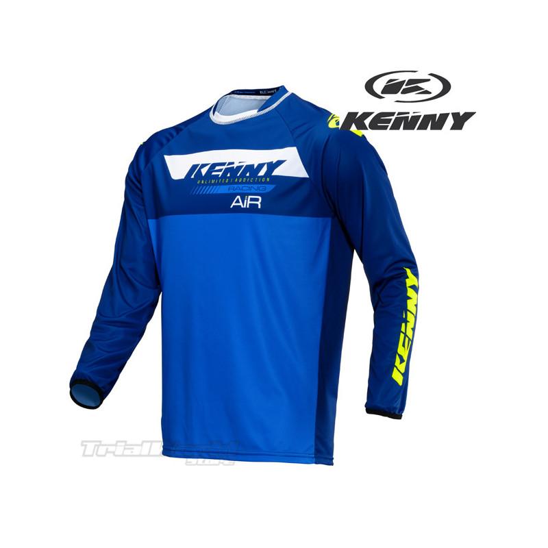 Camiseta Kenny Racing Trial Air azul