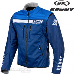 Kenny Racing Jacket blue