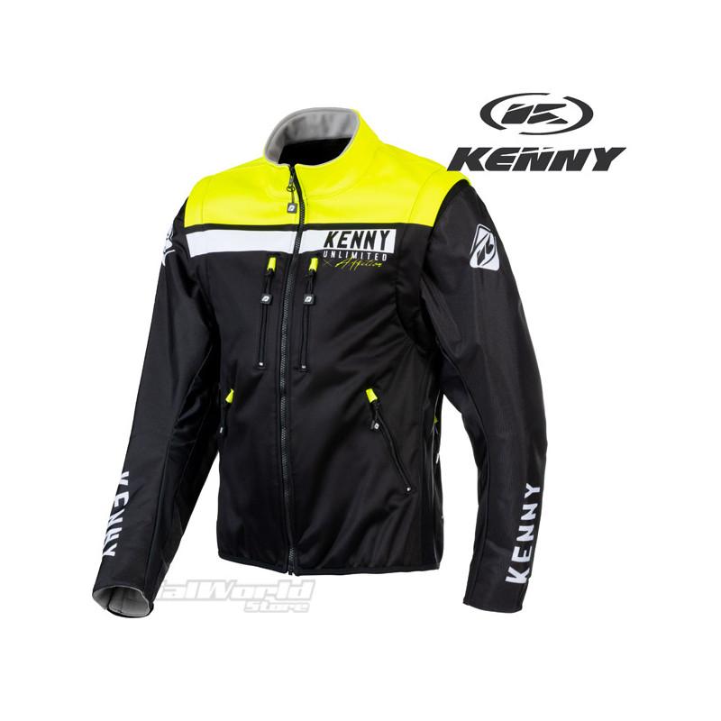 Chaqueta Kenny Racing amarilla