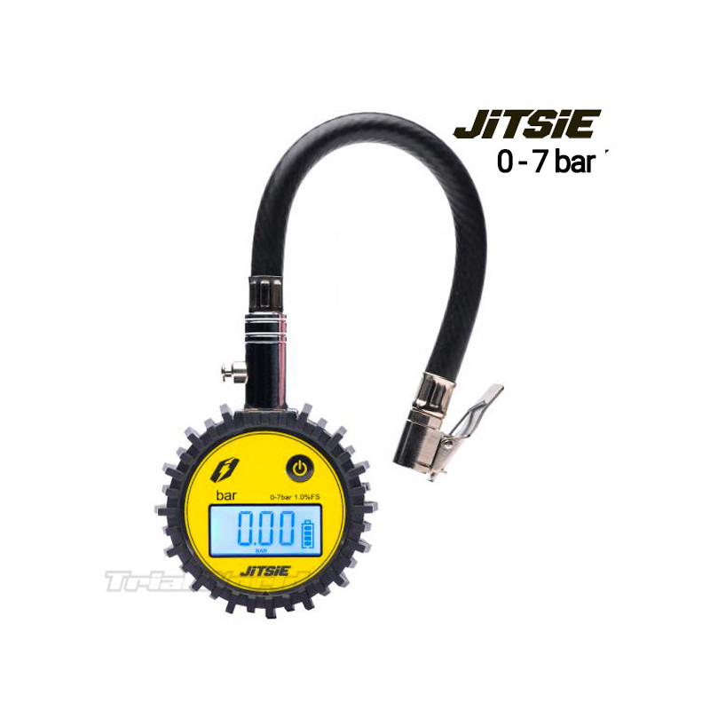 Digital pressure gauge for trials