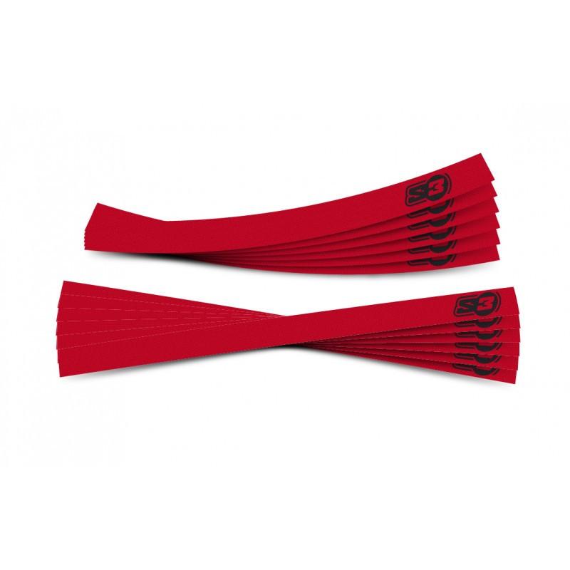 Kit de adhesivos llantas S3 rojos