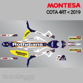 Kit adhesivos Montesa Cota...
