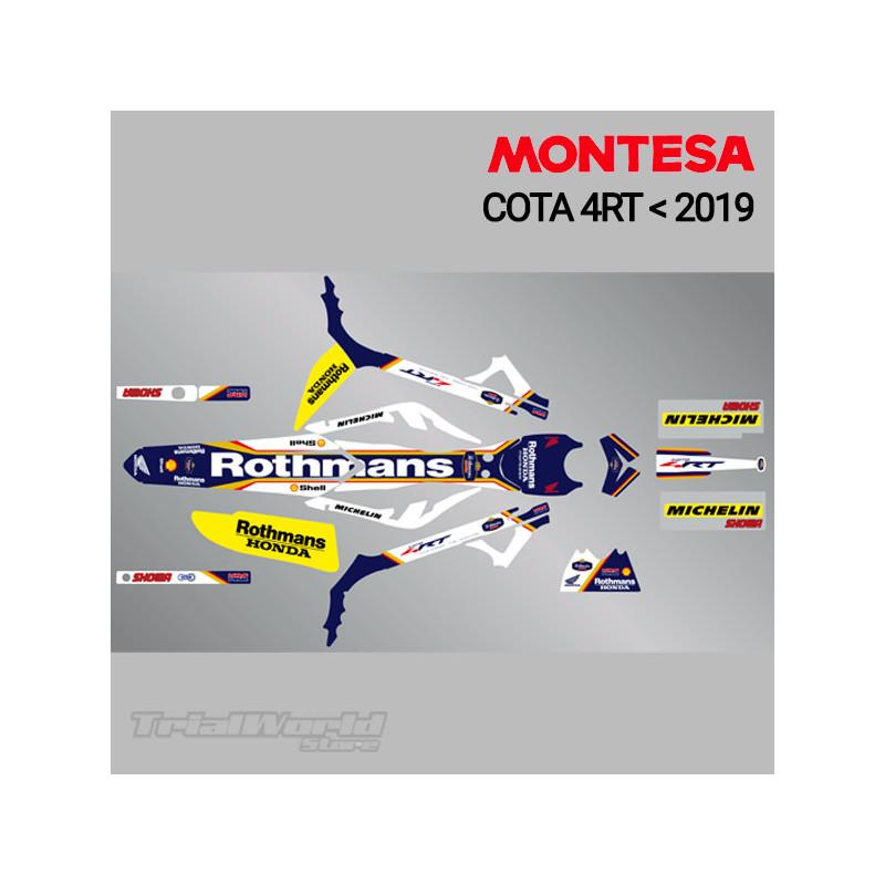 Kit adhesivos Montesa Cota 4RT Rothmans