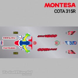 Kit adhesivos Montesa Cota 315R 1997 Colomer