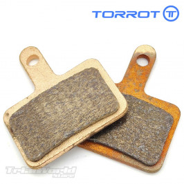 Front and rear brake pads...