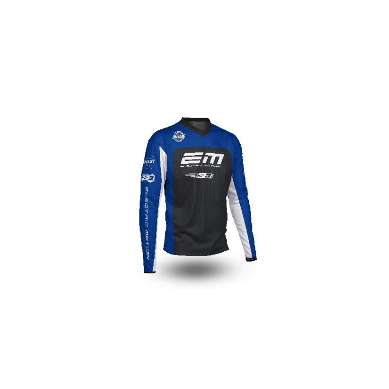 Camiseta S3 Electric Motion azul S