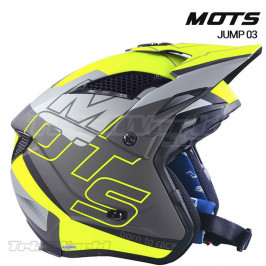 Helmet MOTS Jump UP03 YELLOW